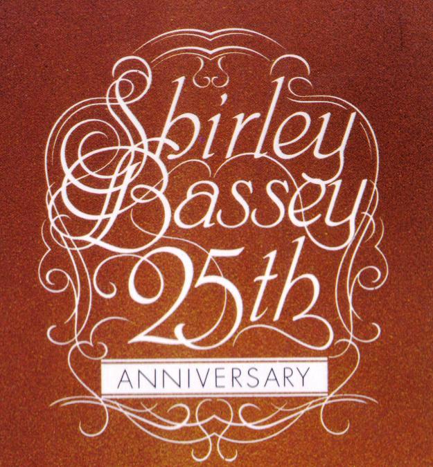 Shirley Bassey's 25th. anniversary -1978-