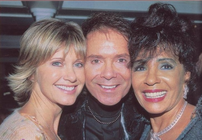 DSB at Sir Cliff Richard's 60th. birthday bash