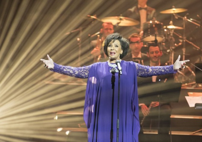Dame Shirley Performs in Paris for Chopard Diamond Film Premiere