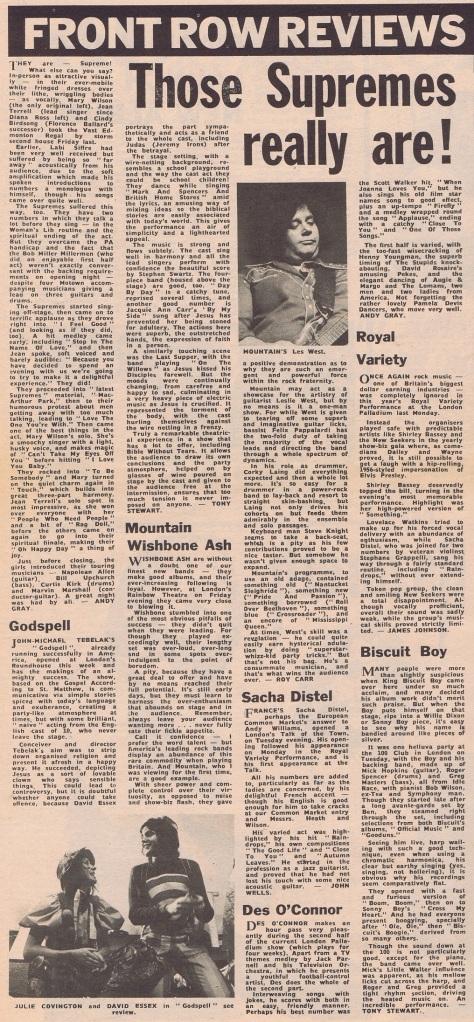 1971 AZ NMEBassey20thNovVariety