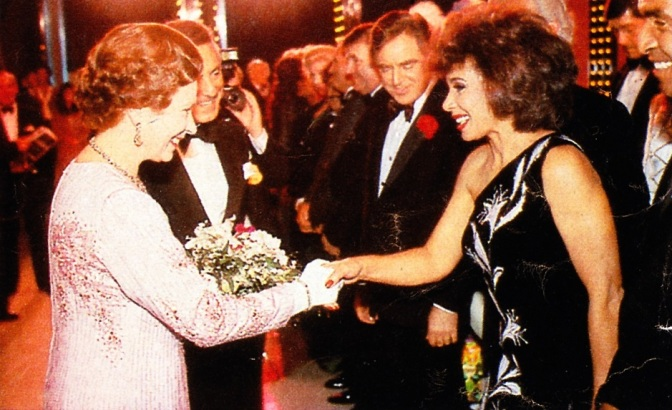 DSB At The 1987 Royal Variety Performance
