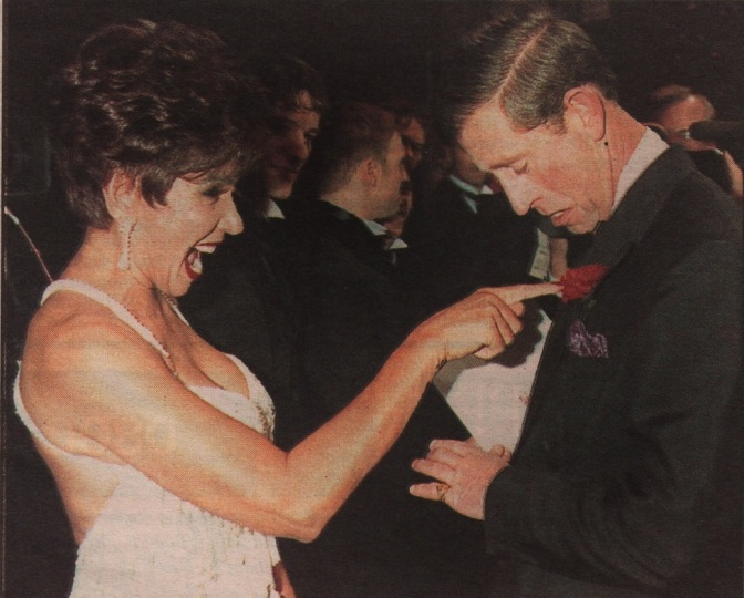 DSB AT THE 1994 ROYAL VARIETY PERFORMANCE