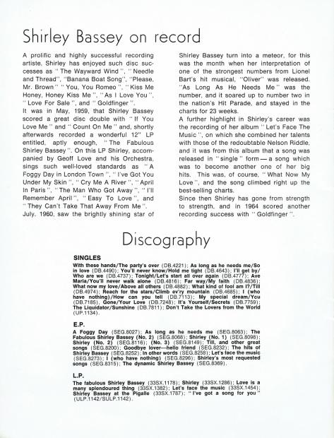 SB - 1966 Prince of Wales souvenir programme 14 - UK