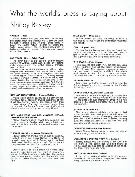 SB - 1966 Prince of Wales souvenir programme 6 - UK