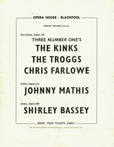 SB - Sunday 7th August 1966 Concert 3 - Blackpool UK