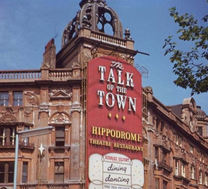 1967 Talk Of The Town -PROGRAMME-