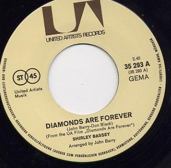 diamonds are forever - de - centre