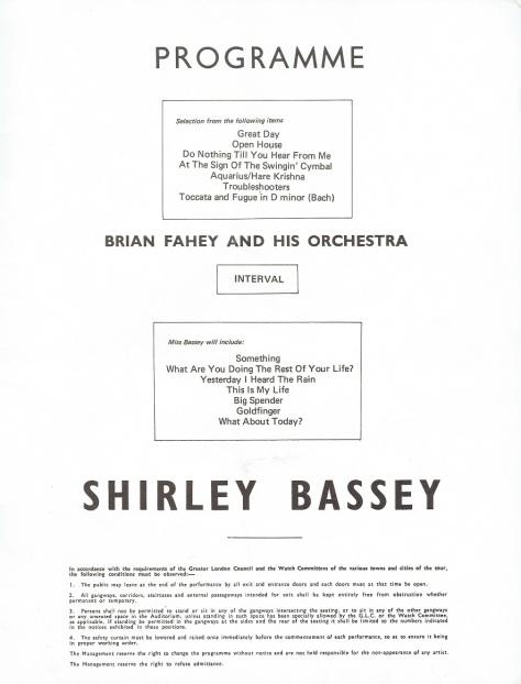 SB - 1970 UK Programme 9