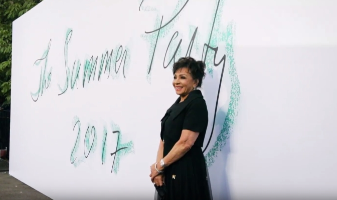 Resplendent DSB Oozed Glamour in Black Dress at Serpentine Summer Party