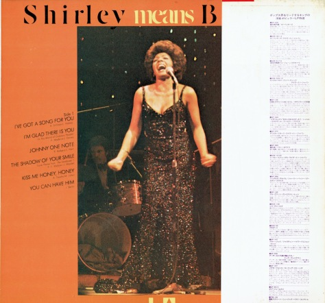 SB - Shirley means Bassey 2 - Japan