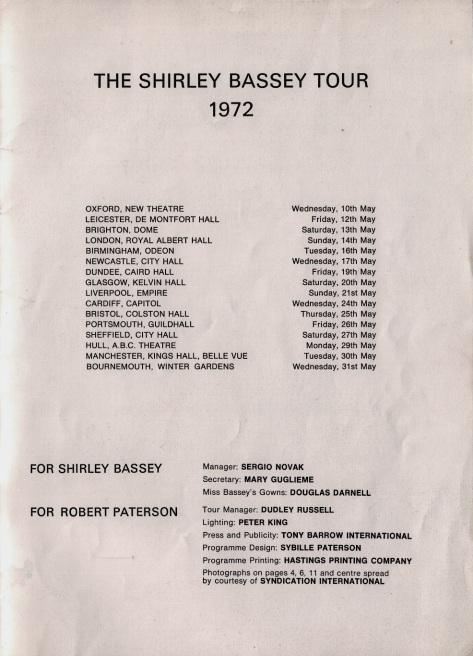 1972 Programme UK 8