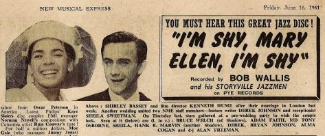 1961 BA NMEBassey16thJune (blog)