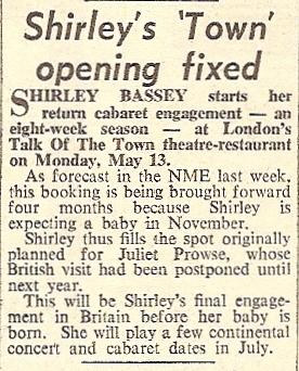 1963 AM NMEBassey19thApril