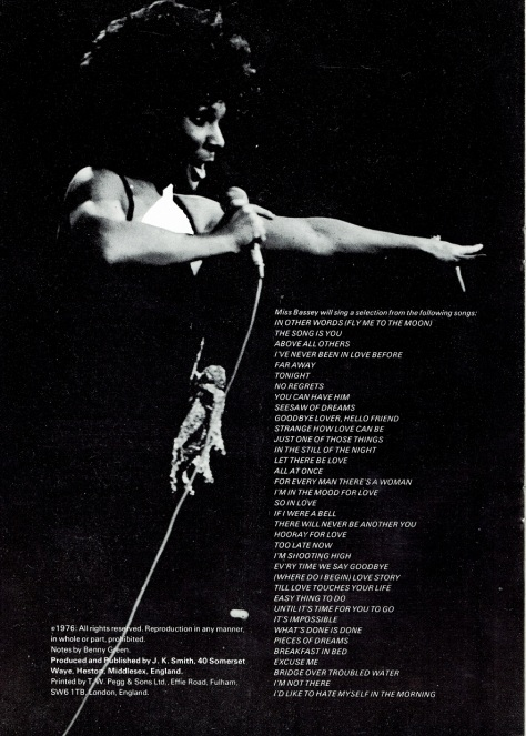 SB - 1976 Unofficial UK Programme 6
