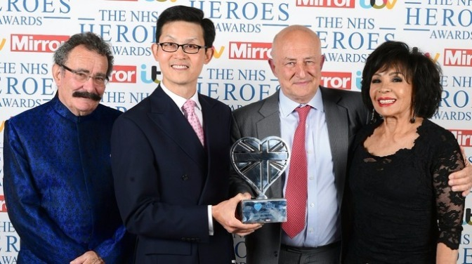 DSB Gives Award to Pioneering Heart Surgeons at NHS Heroes Ceremony