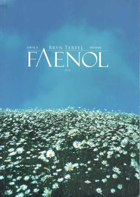 Faenol - Programme