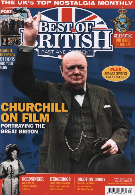 Best Of British Magazine Cover