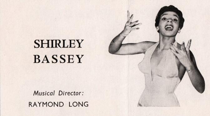 PROGRAMME 1962 -London Palladium-
