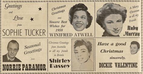 1957 AC NMEBassey20thDec Christmas