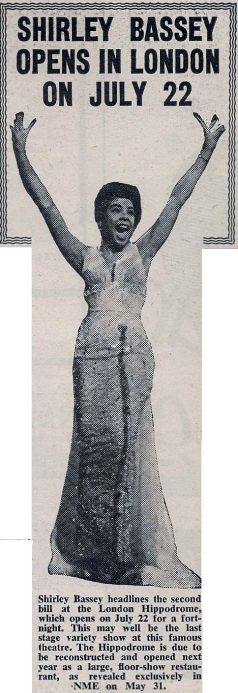 1957 AE NMEBassey21stJune