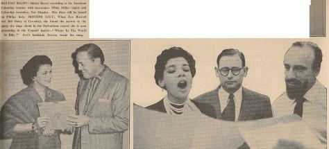 1957 AF NMEBassey22ndFeb