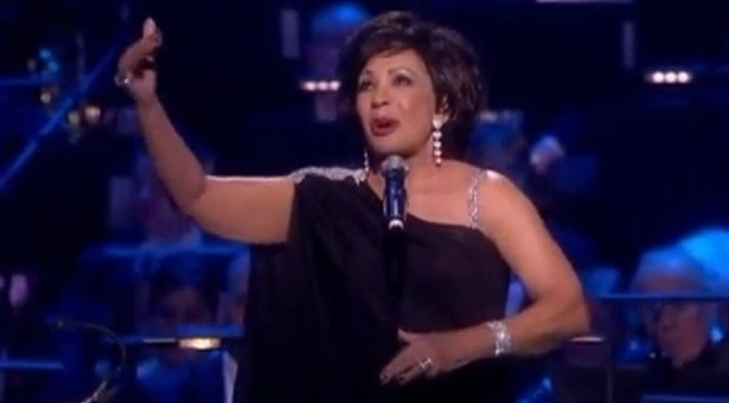 Dame Shirley Bassey performs at Gorbechev 80th. birthday party -2011-