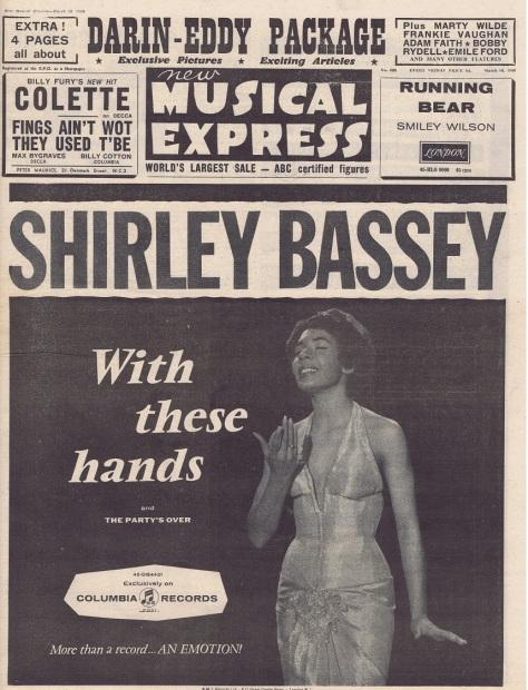 1960 AJ NMEBassey18thMarchA3Cover (blog)