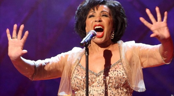 Dame Shirley Bassey AT THE CLASSIC BRIT AWARDS -2011-