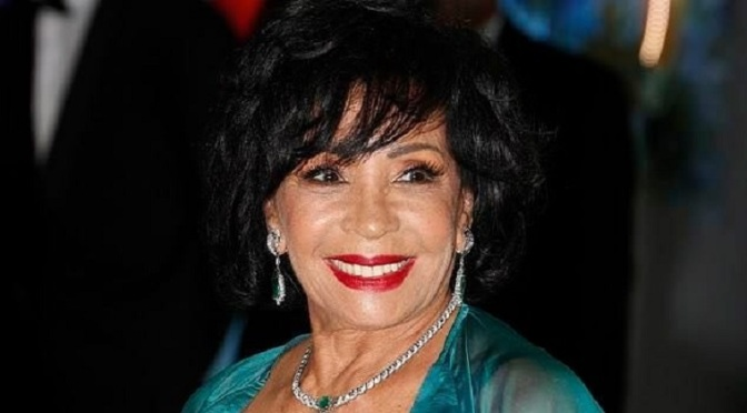 Dame Shirley Bassey attends the 71th Monaco Red Cross Ball Gala -2019-