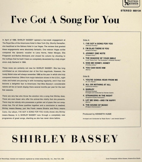 1966 - I've Got A Song For You