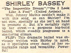 1967 AA NMEBassey18thFeb