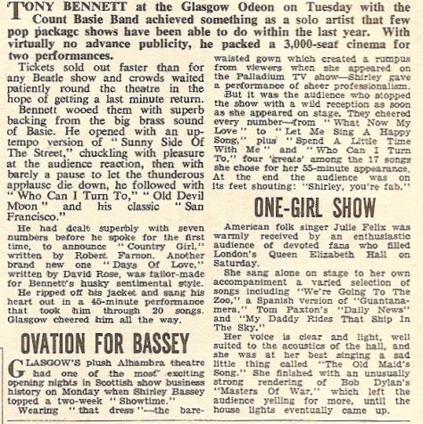 1967 AB NMEBassey20thMay