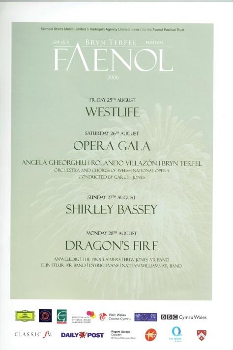 Faenol - Programme 2