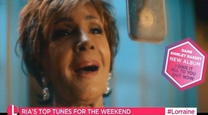 Dame Shirley Bassey on Lorraine